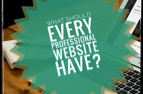 What Should very professional Website Have?