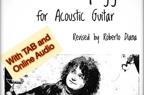 Giuliani's 120 Arpeggios for Acoustic Guitar with TAB and AUDIO (Acoustic Guitar Methods Vol. 1)