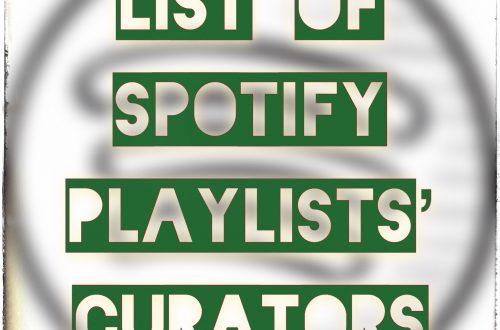 List of Spotify Playlist Curators