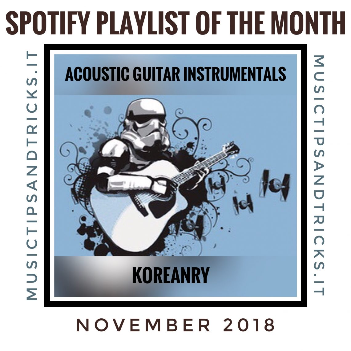 Acoustic Guitar Instrumentals Spotify Playlist by Koreanry