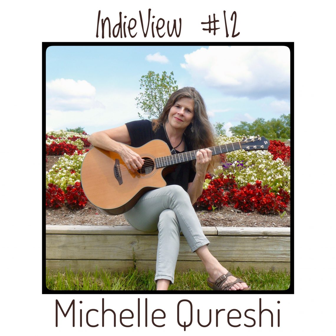 Michelle Qureshi - IndieView 12th Acoustic Guitar