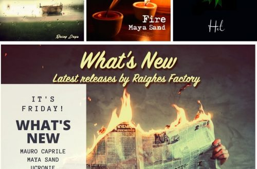 what's new raighes factory mauro caprile maya sand ucronie
